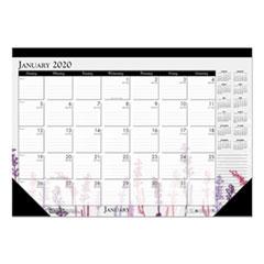 HOD 197 House of Doolittle 100% Recycled Wild Flower Desk Pad Calendar HOD197