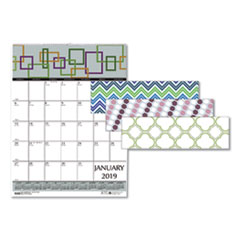 HOD 3492 House of Doolittle 100% Recycled Geometric Wall Calendar HOD3492