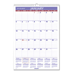 AAG PMLM0228 AT-A-GLANCE Erasable Wall Calendar AAGPMLM0228