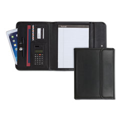SAM 70890 Samsill Professional Tri-Fold Padfolio with Calculator SAM70890