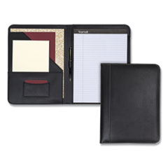 SAM 71710 Samsill Contrast Stitch Leather Padfolio SAM71710