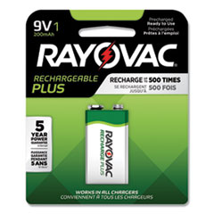 RAY PL16041GEND Rayovac Recharge Plus NiMH Batteries RAYPL16041GEND