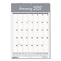 HOD 333 House of Doolittle Bar Harbor 100% Recycled Wirebound Monthly Wall Calendar HOD333