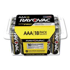 RAY ALAAA18PPJ Rayovac Ultra Pro Alkaline Batteries RAYALAAA18PPJ