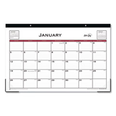 BLS 111293 Blue Sky Classic Red Desk Pad BLS111293