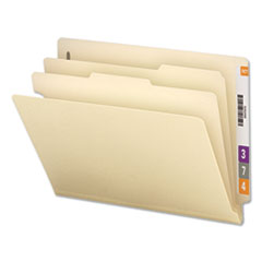 UNV 16150 Universal Six-Section Manila End Tab Classification Folders UNV16150