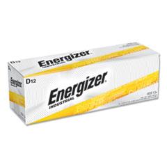 Industrial Alkaline D Batteries, 1.5V, 12/Box