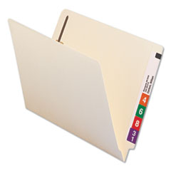 UNV 13120 Universal Reinforced End Tab File Folders with Fasteners UNV13120