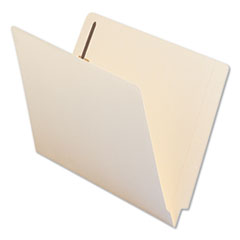 UNV 13110 Universal Reinforced End Tab File Folders with Fasteners UNV13110