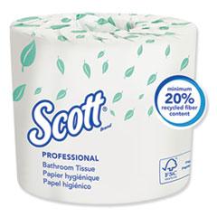 KCC 04460RL Scott Essential Standard Roll Bathroom Tissue KCC04460RL