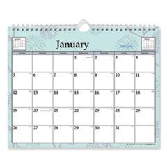 BLS 101613 Blue Sky Rue Du Flore Wirebound Wall Calendar BLS101613