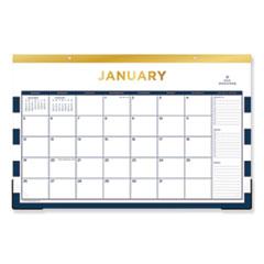 BLS 103628 Blue Sky Day Designer Desk Pad Calendar BLS103628