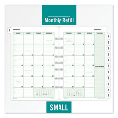 DTM 87229 Day-Timer Monthly Classic Refill DTM87229