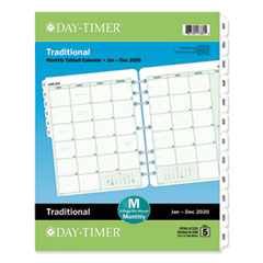 DTM 87329 Day-Timer Monthly Classic Refill DTM87329