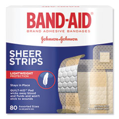 JOJ 4669 BAND-AID Tru-Stay Sheer Strips Adhesive Bandages JOJ4669