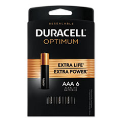 DUR OPT2400B6PRT Duracell Optimum Batteries DUROPT2400B6PRT