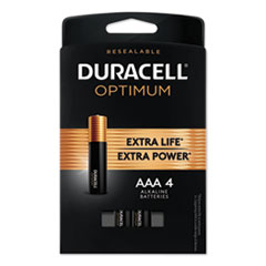 DUR OPT2400B4PRT Duracell Optimum Batteries DUROPT2400B4PRT