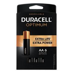 DUR OPT1500B6PRT Duracell Optimum Batteries DUROPT1500B6PRT