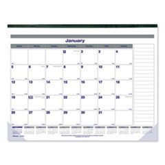 RED C177847 Blueline Net Zero Carbon Monthly Desk Pad Calendar REDC177847