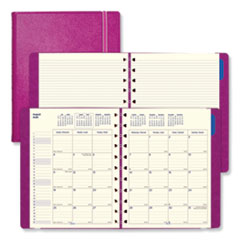 RED C1811003 Filofax Soft Touch 17-Month Planner REDC1811003