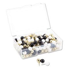 UBR 3084U0624 U Brands Fashion Sphere Push Pins UBR3084U0624