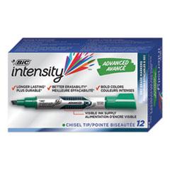 BIC GELIT11GN BIC Intensity Advanced Dry Erase Marker BICGELIT11GN
