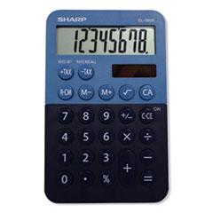 SHR EL760RBBL Sharp EL-760RBBL Handheld Calculator SHREL760RBBL