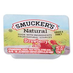 SMU 8201 Smuckers 1/2 Ounce Natural Jam SMU8201