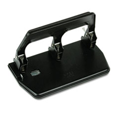 MAT MP50 Master Heavy-Duty Three-Hole Punch with Gel Pad Handle MATMP50