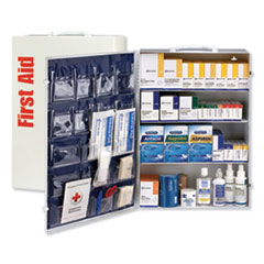 FAO 90576 First Aid Only ANSI Class B+ 4 Shelf First Aid Station with Medications FAO90576