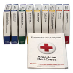 FAO 740010 First Aid Only ANSI Compliant First Aid Kit Refill for 10 Unit First Aid Kit FAO740010