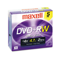 MAX 634045 Maxell DVD+RW Rewritable Disc MAX634045
