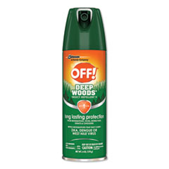 SJN 611081EA OFF! Deep Woods Aerosol Insect Repellent SJN611081EA