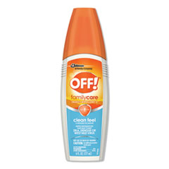 SJN 629380EA OFF! FamilyCare Unscented Spray Insect Repellent SJN629380EA