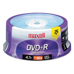 MAX 639011 Maxell DVD+R High-Speed Recordable Disc MAX639011