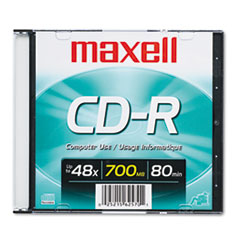MAX 648201 Maxell CD-R Recordable Disc MAX648201