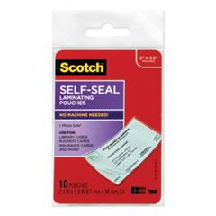 MMM LS85110G Scotch Self-Sealing Laminating Pouches MMMLS85110G