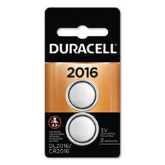DUR DL2016B2PK Duracell Lithium Coin Batteries DURDL2016B2PK
