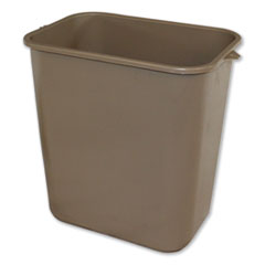 IMP 7702BEI Impact Soft-Sided Wastebasket IMP7702BEI