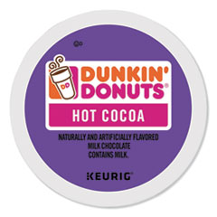 GMT 7721 Dunkin' Donuts Milk Chocolate Hot Cocoa GMT7721