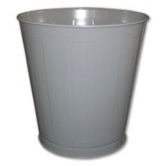 IMP 13023 Impact Round Metal Wastebasket IMP13023