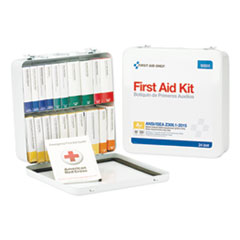 FAO 90600 First Aid Only Unitized ANSI Class A Weatherproof First Aid Kit FAO90600