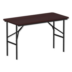 ALE FT724824MY Alera Rectangular Wood Folding Table ALEFT724824MY