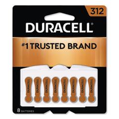 DUR DA312B8ZM09 Duracell Hearing Aid Batteries DURDA312B8ZM09