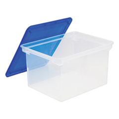STX 61508U01C Storex Plastic File Tote STX61508U01C