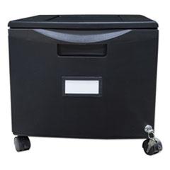 STX 61264B01C Storex Single-Drawer Mobile Filing Cabinet STX61264B01C