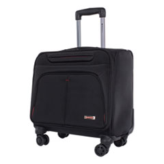 SWZ BZCW1003SMBK Swiss Mobility Purpose Overnight Business Case On Spinner Wheels SWZBZCW1003SMBK