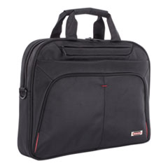 SWZ EXB1007SMBK Swiss Mobility Purpose Slim Executive Briefcase SWZEXB1007SMBK