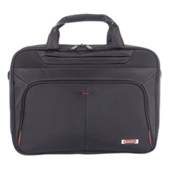 SWZ EXB1005SMBK Swiss Mobility Purpose Slim Executive Briefcase SWZEXB1005SMBK