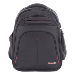 SWZ BKP1000SMBK Swiss Mobility Purpose 2 Section Business Backpack SWZBKP1000SMBK